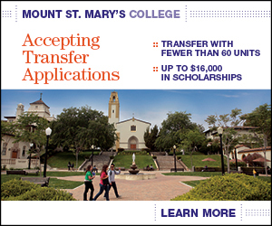 Mt. St. Mary's College Transfer 2014