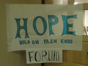Club hosts forum for awareness