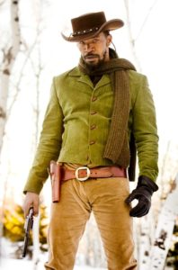 Jaime Foxx as Django Freeman in Django Unchained