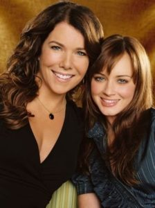 Lorelai and Rory Gilmore from Gilmore Girls