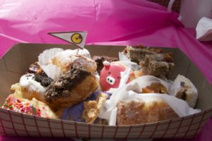 Donut samples from all of the LA Donut Festival's participating stores