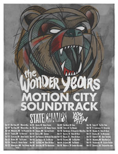 The Wonder Years 2015 Tour