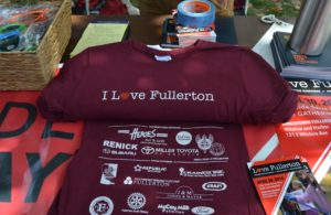 """I Love Fullerton"" shirt"