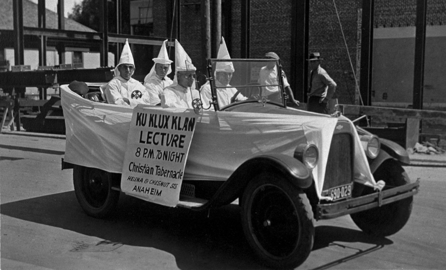 How far back into Anaheim's history does the KKK go? | Serving the  Fullerton Community Since 1922 | The Hornet