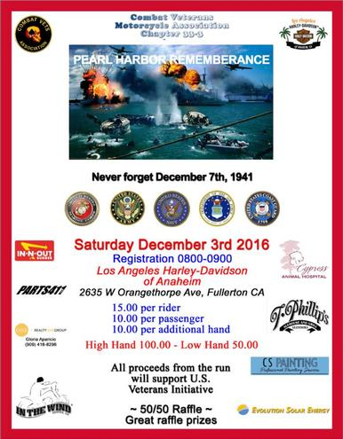 Pearl Harbor Remembrance Event