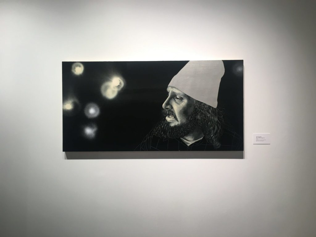 """Abel Alejandre: Committed to the Line"" exhibit"