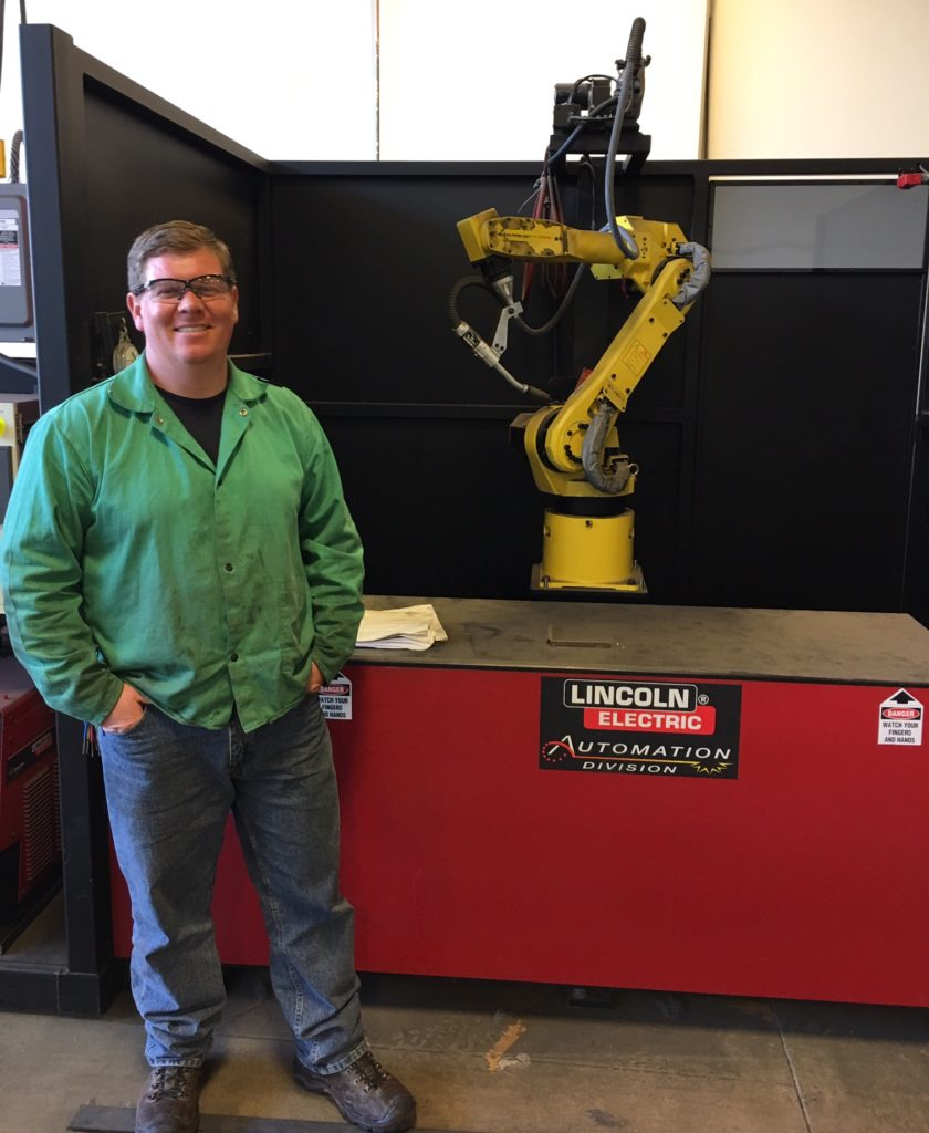 Welding Robot and Welding instructor