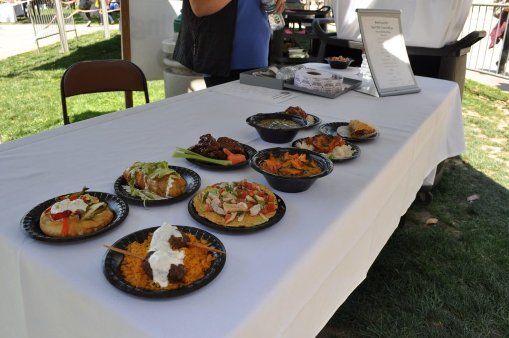 Sodexo's cultural dishes at World Fest