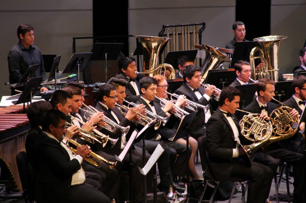 Trumpets and French Horns