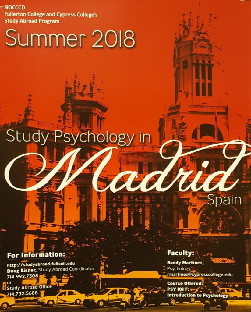 Study abroad flyer