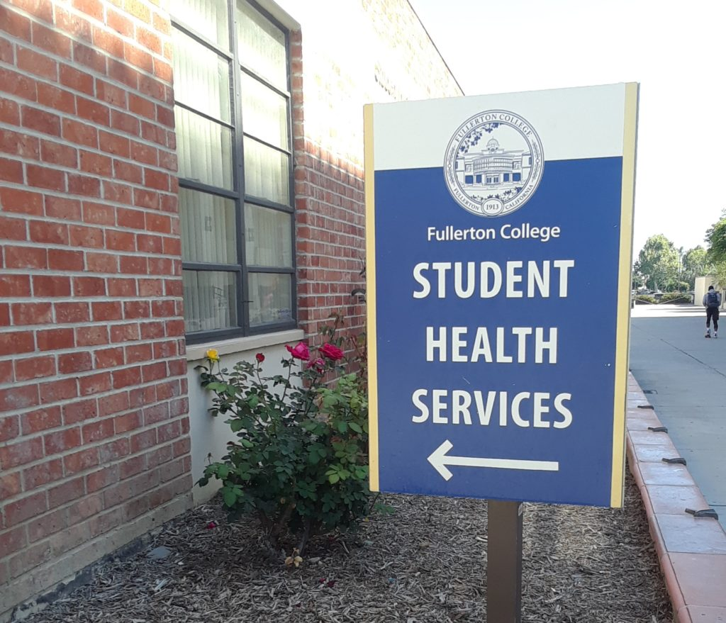 Health Service Sign