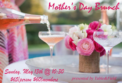 Mother's Day brunch at the Arboretum