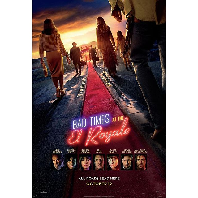 """Movie Review:""""Bad Times at the El Royale"""""""