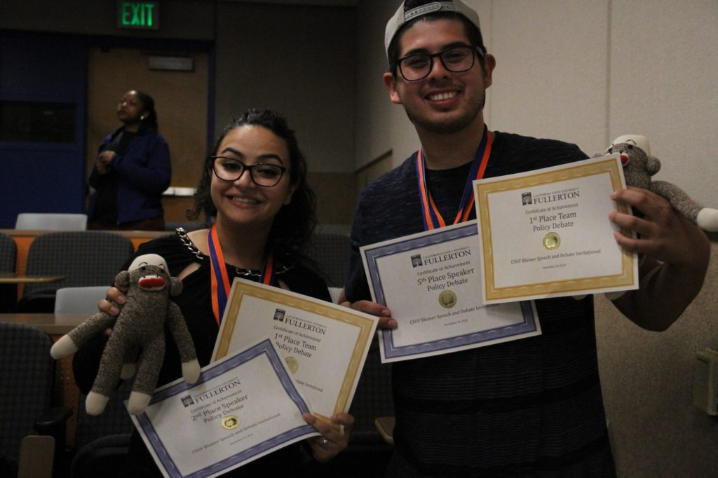 1st place policy debate team