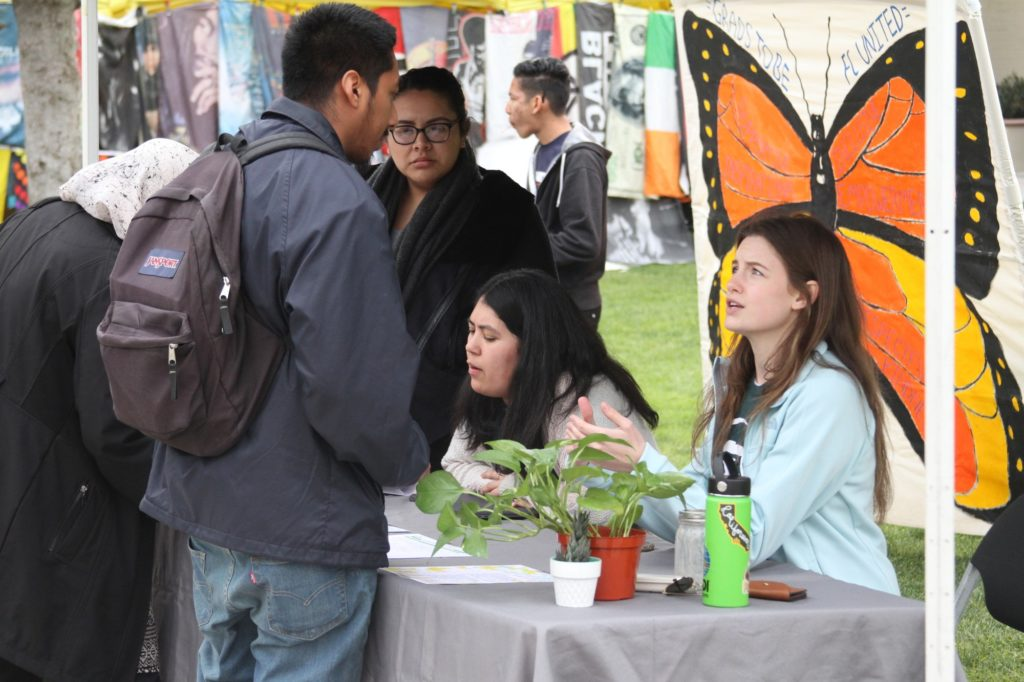 Students for Equitable Sustainability booth