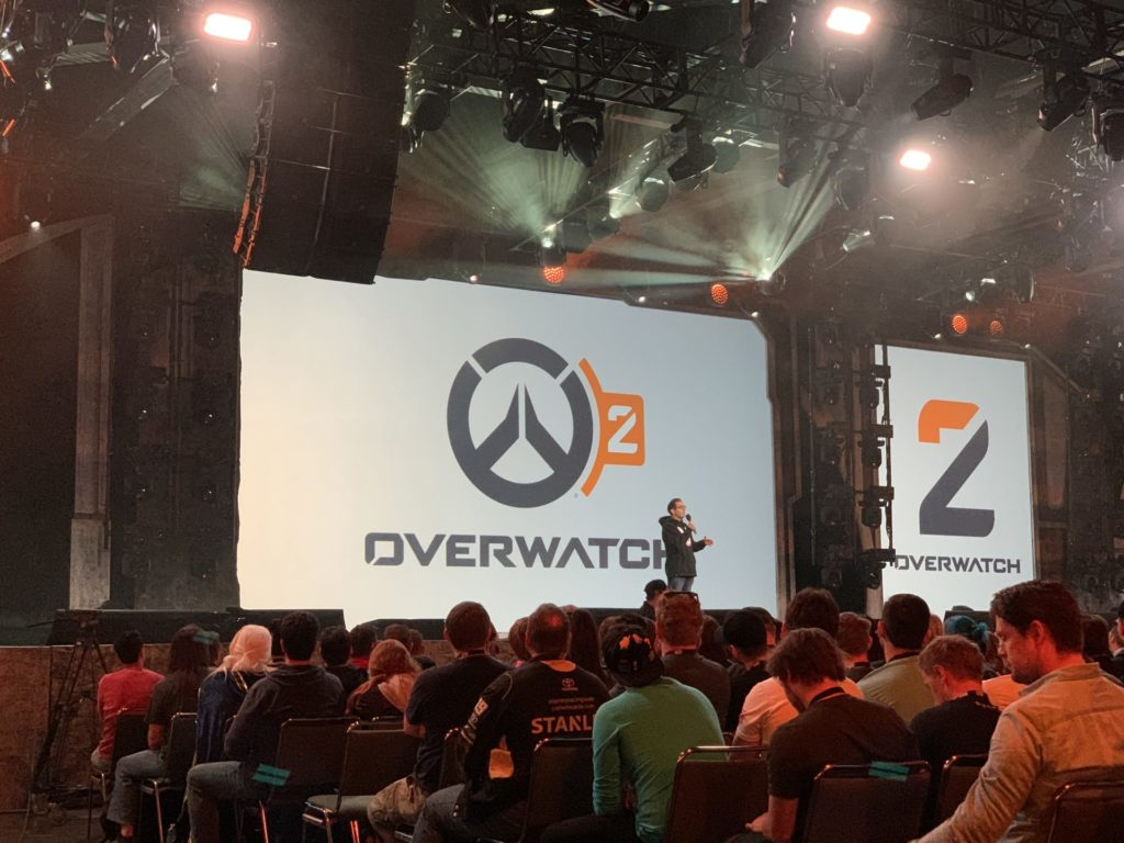 Overwatch 2 announced on the Mythic Stage