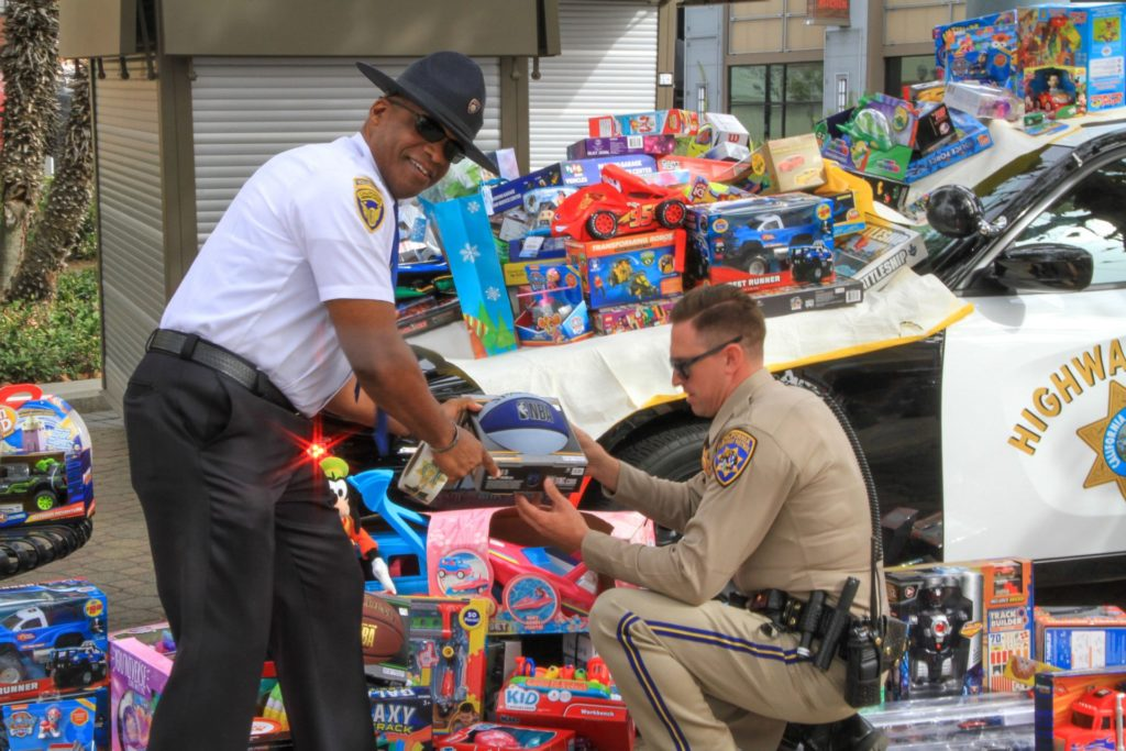 California Highway Patrol Toy Drive