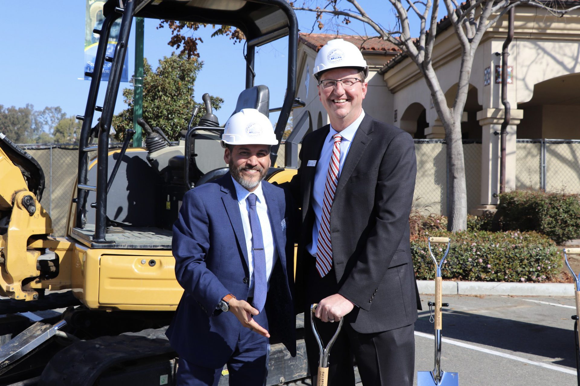 New humanities building begins construction at Fullerton College   Serving the Fullerton Community Since 1922   The Hornet image