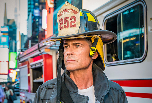 Rob Lowe stars as a fire captain from New York that is sent to rebuild an Austin, Texas station in Fox's new show 9-1-1 Lone Star.