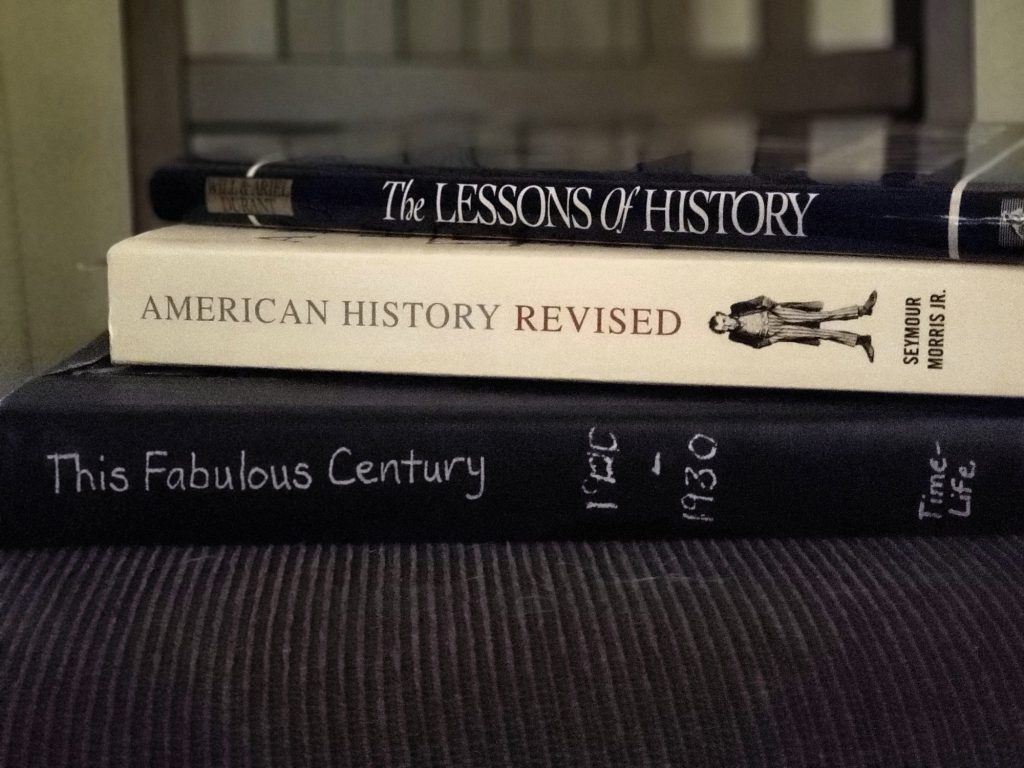 Censoring history in the school system can cause lessons of history to be lost.