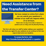 This Instagram post from the FC Transfer Center drew attention to their new online answer forum.