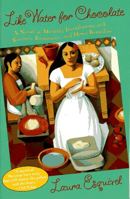 """""""Like Water for Chocolate,"""" by Laura Esquivel, explores the power struggle between upholding tradition and expressing true love and passion."""