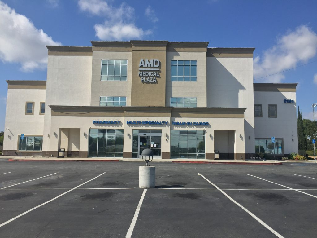 The AMD Medical Plaza is located in Westminster, CA, the Dao Medical Group is located inside this building.