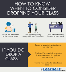 How to know when to drop a class