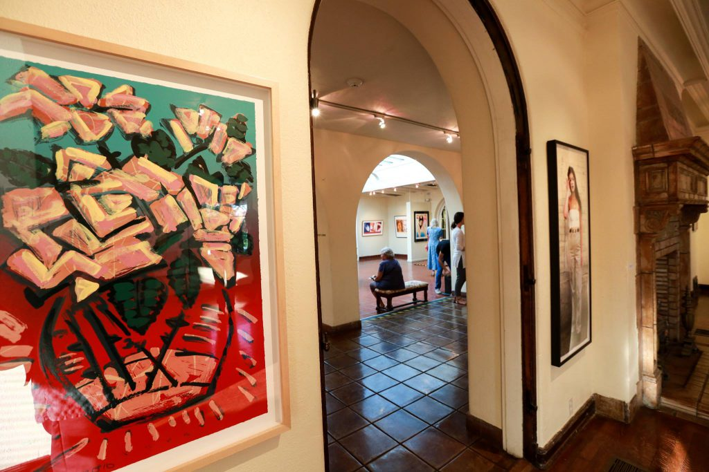 The Muckenthaler Cultural Center hosts many art exhibits and concerts throughout the year.