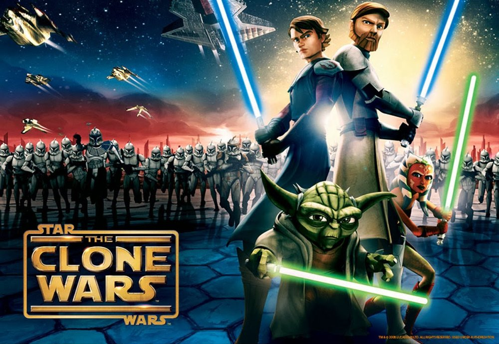 """Star Wars: The Clone Wars"" made its debut in 2008 and was created by George Lucas and directed by Dave Filoni"