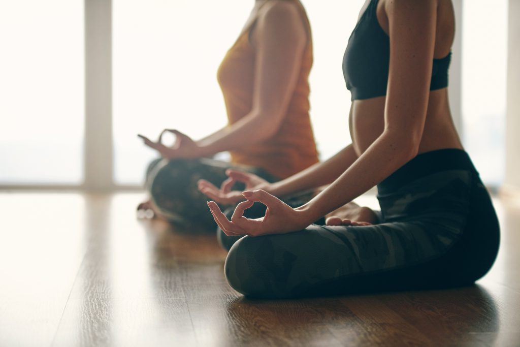 Gold's Gym is offering yoga tips to try at home.
