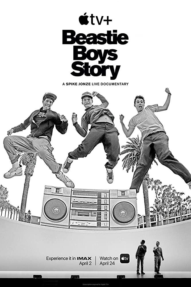 The Beastie Boys Story is new documentary on the Beastie Boys, released on Apple TV+ that is told in a live performance setting.