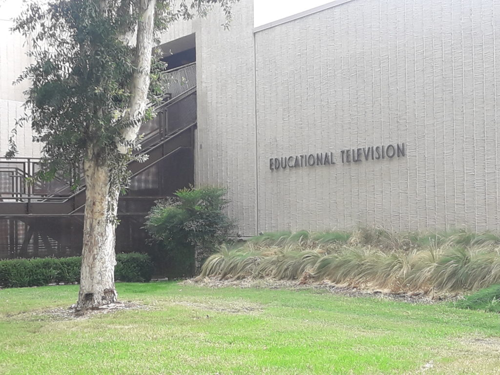 The educational television building at Fullerton College.