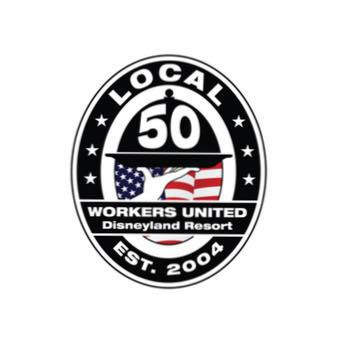 The Workers United Local 50 emblem.