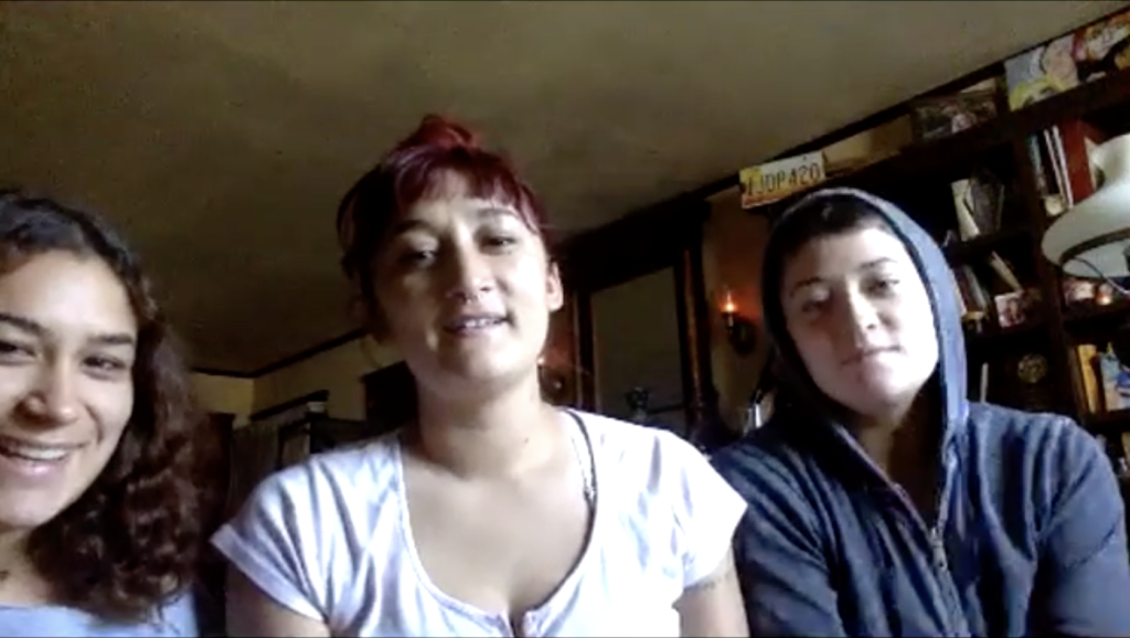 Havi (left), Clarah (center), and Tabbi (right) Darden talk about the importance of their band, Darden.