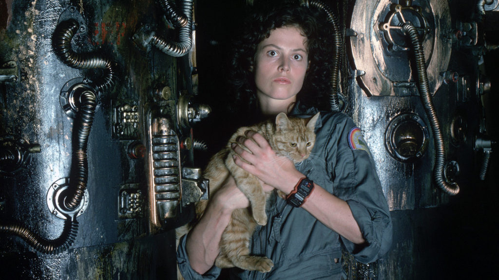 """Sigourney Weaver was nominated for the Oscars for her portrayal as Ripley in """"Alien""""."""