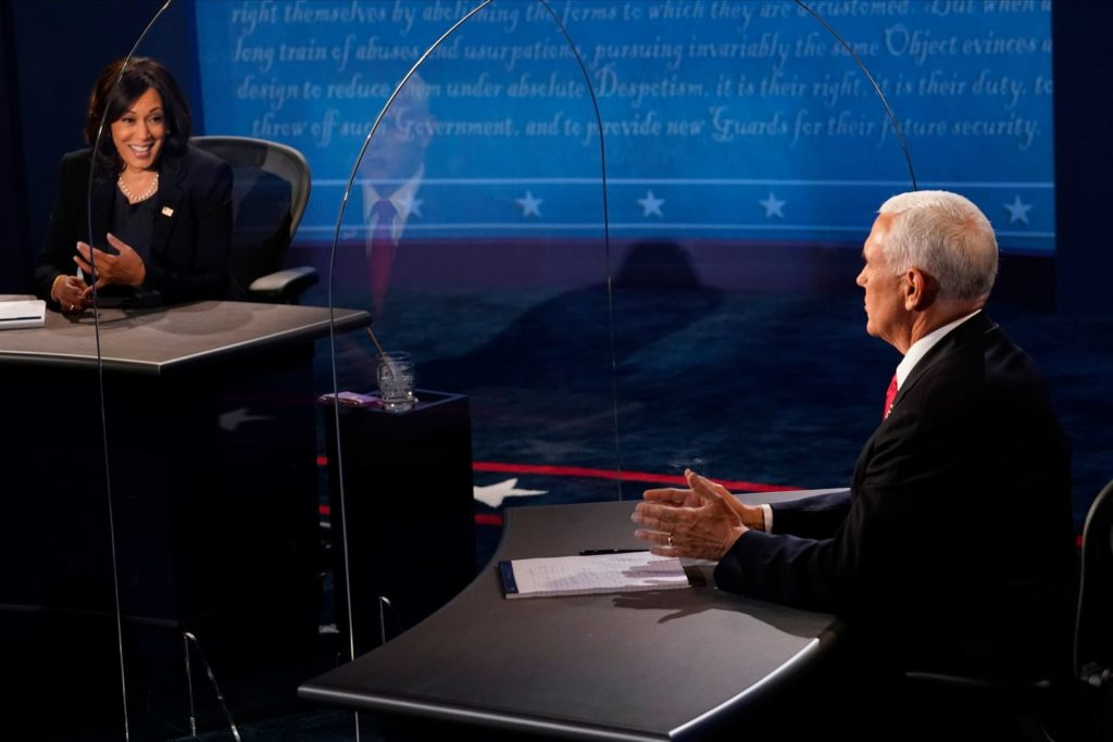 Vice President Pence and Sen. Kamala Harris touched on many topics from coronavirus to racial injustice on Wednesday night.