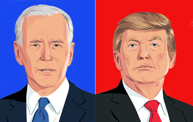 President Donald Trump and Democratic nominee Joe Biden faced off one final time before the Nov. 3 election
