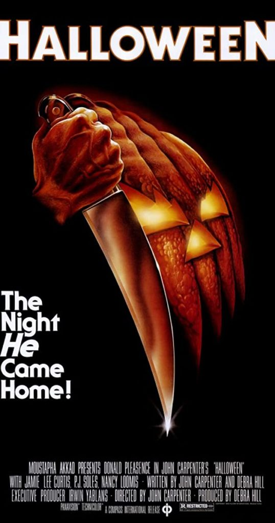 Halloween was released in 1978 and was criticized for possibly encouraging sadism and misogny.