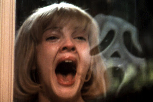 Scream is also known for its' opening scene with Drew Barrymore setting the tone for the whole film.
