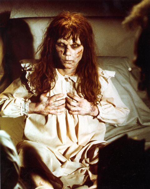 The make up design for The Exorcist is also something that was memorable and one of the most terrifying thing to look at.