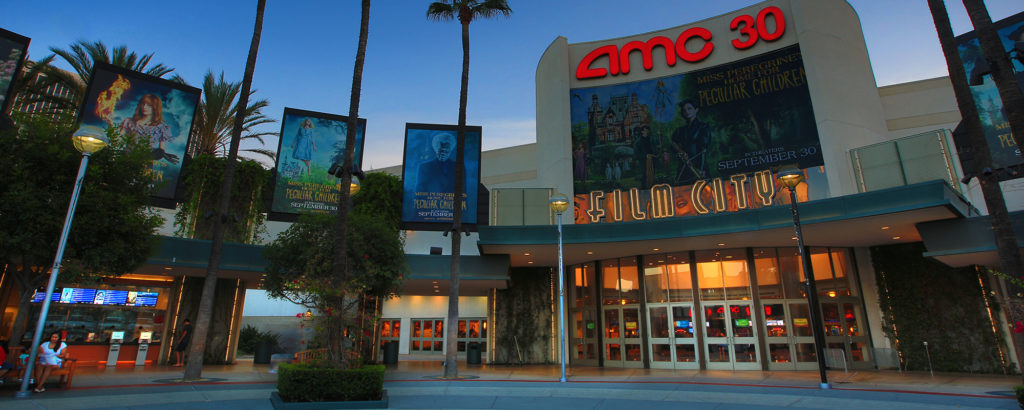 AMC 30 is one of the few theaters in Orange County that has reopened.