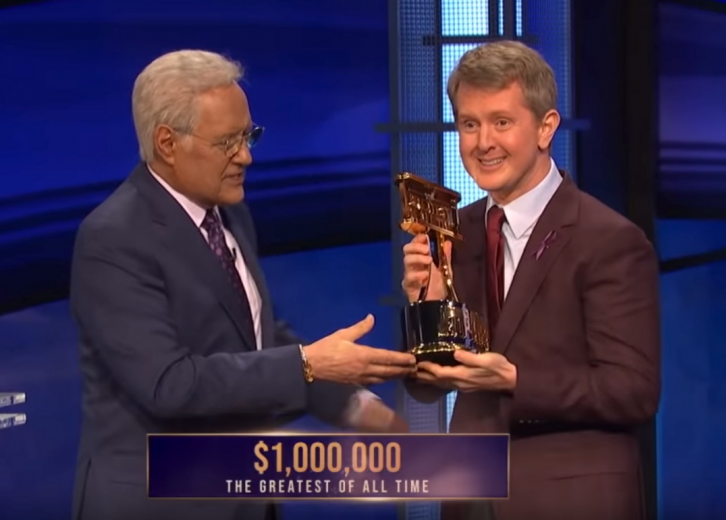 """""""Jeopardy!"""" are excited to see Ken Jennings as the new interim host as he&squot;s a familiar they&squot;ve seen a bunch of times and believe he will do a good job."""