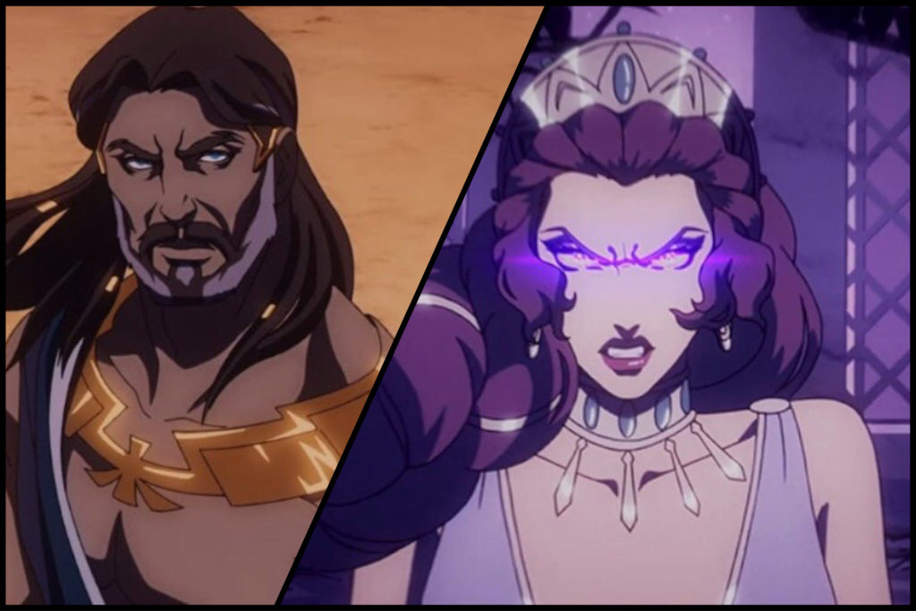 Zeus's and Hera's relationship and conflict is one of the focal point of the show and is able to work as it shows the impact Heron has on the two gods.
