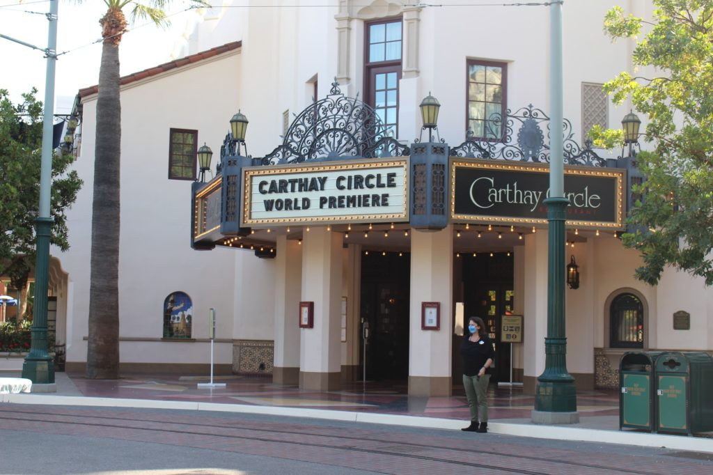 Carthay Circle Restaurant created a new menu for the reopening of Buena Vista Street.