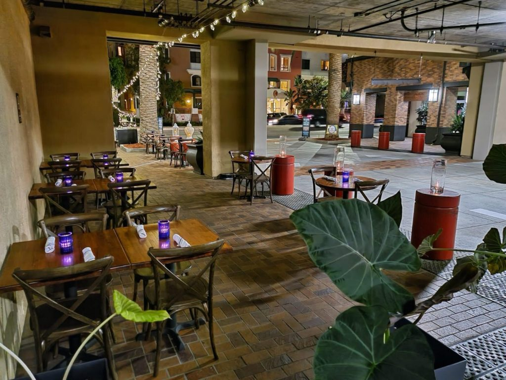 Khan Saab is currently offering outdoor dining at a limited capacity.