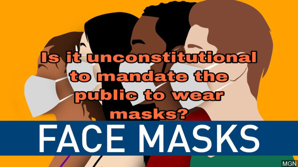 It is not unconstitutional when it is protecting the public.