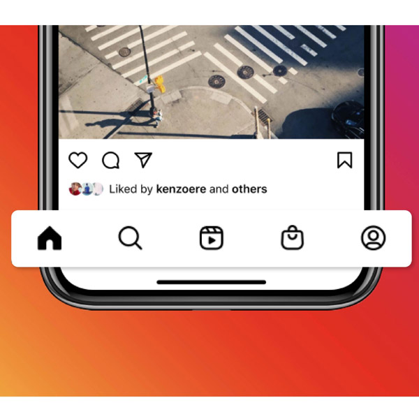 It's understandable that Instagram wants to create a separate tab for reels and shopping, it doesn't really makes sense why they would replace the post tab and camera tab when they can just place it at the top of the home page.