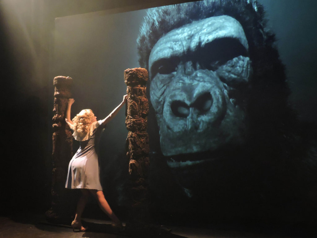 The combination of technology and Newell's storytelling make for productions like King Kong seem real