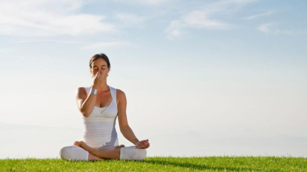 You can control and improve your breathing with the techniques you'll learn in yoga.